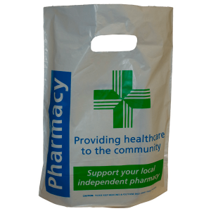 Generic Pharmacy Poly Bag