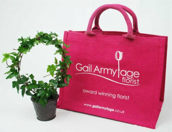 Jute Bag for Florists