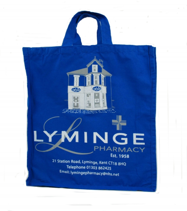 Cotton Bag for pharmacies