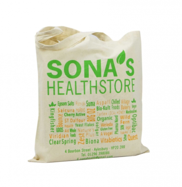 Natural Cotton Bag 5oz